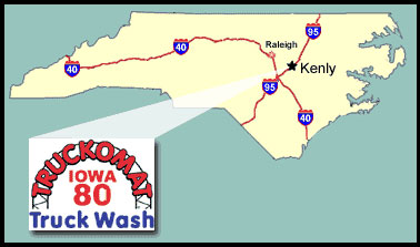 Kenly, North Carolina Map